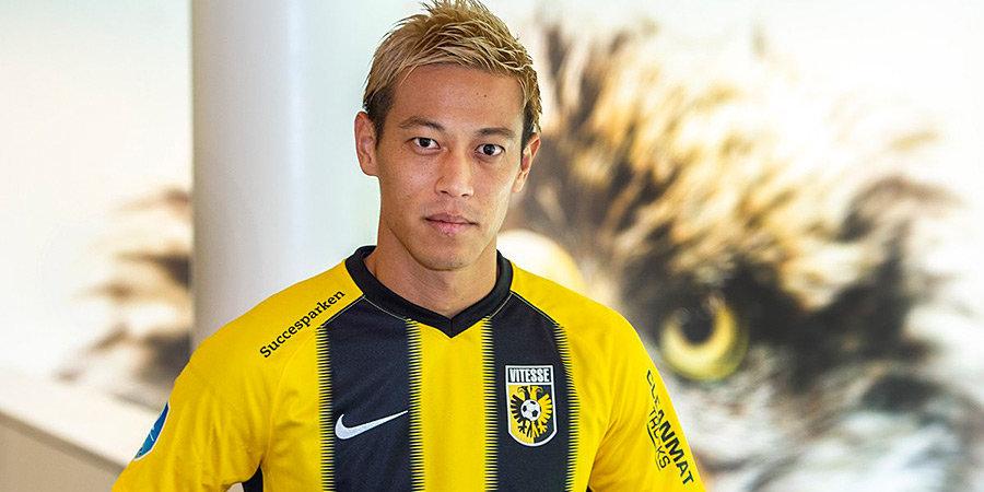 Хонда подписал контракт с «Витессом». Но футбол ему не так важен: у него бизнес с Уиллом Смитом, миссия в Камбодже и австрийский клуб