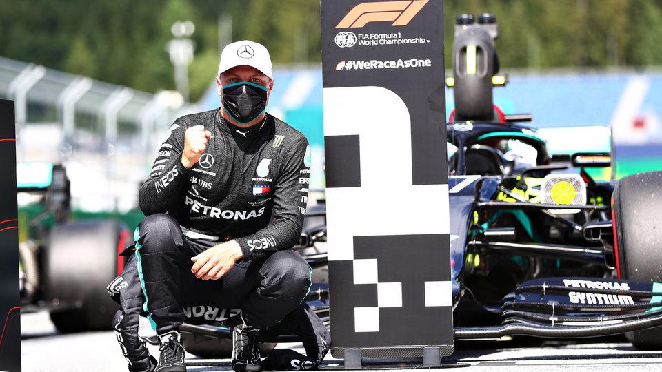 Боттас выиграл квалификацию Гран-при Сахира, Квят показал 6-й результат