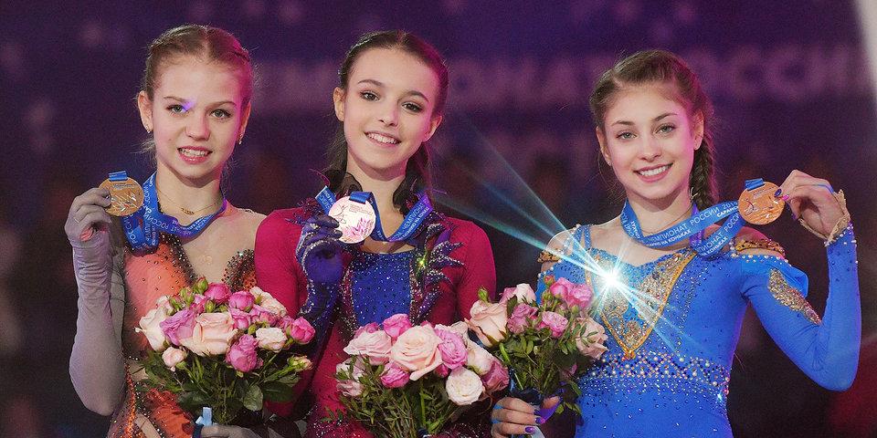 В 2018-м это случилось впервые. Весь пьедестал женского одиночного катания по возрасту не проходит на чемпионат Европы