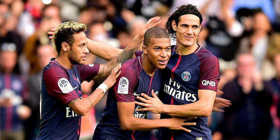 ПСЖ победил «Монако» вматче чемпионата Франции