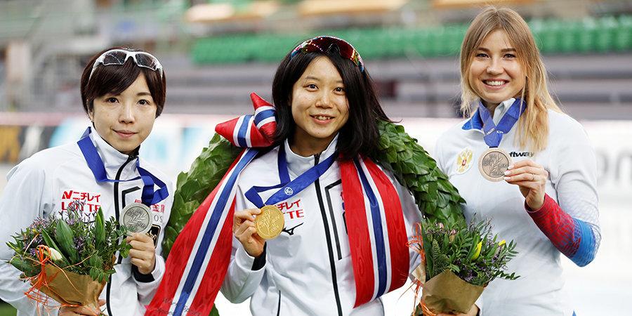 Фаткулина вернула себе бронзу чемпионата мира, а Трофимов и Захаров обошли Свена Крамера на 5000! Итоги второго дня ЧМ по многоборью