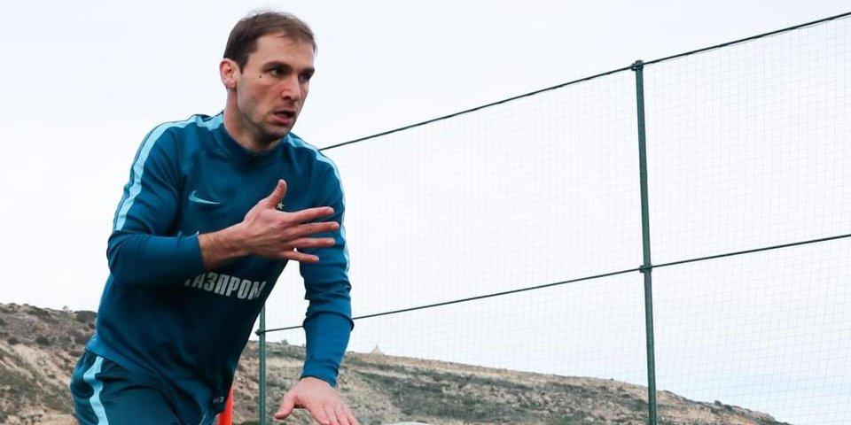 «Зенит» проигрывает «Спарте» в первом матче Ивановича