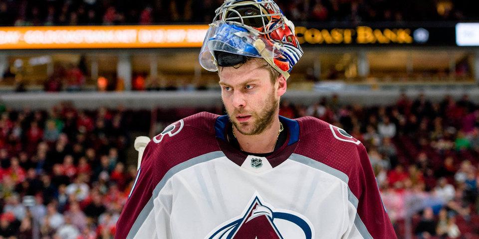 Спасения Семена Варламова и Антона Худобина попали в топ НХЛ