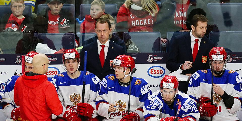 Сборная России уступила шведам по буллитам