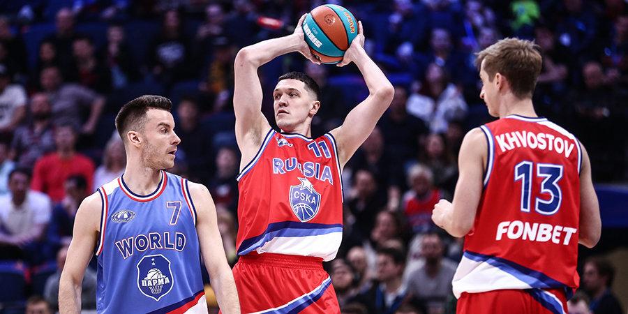 Три баскетболиста ЦСКА изолированы от команды из-за подозрения на коронавирус