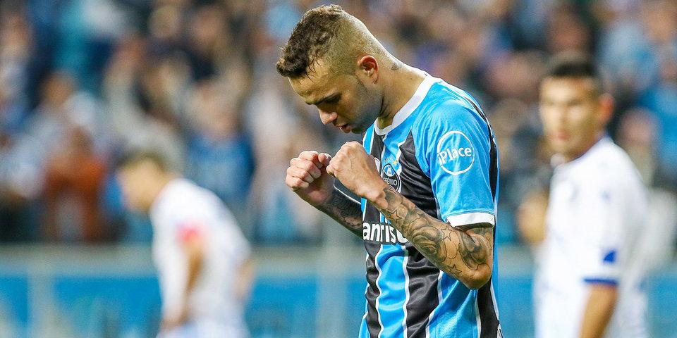 Бразильский «Гремио» победил аргентинский «Ланус» впервом матче финала Кубка Либертадорес