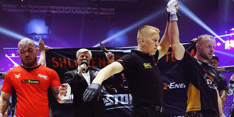 «Нам надо пересечься с Бастой. Есть что обсудить». Шлеменко – про смерть, уровень UFC, рекорд Олейника