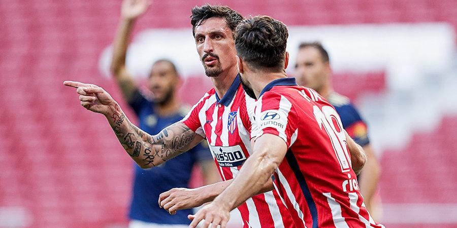 Савич продлил контракт с «Атлетико»