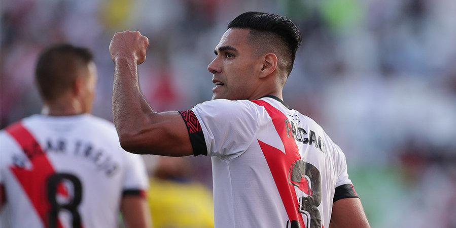 Гол Фалькао помог «Райо Вальекано» обыграть «Кадис», «Реал Сосьедад» победил «Эльче»