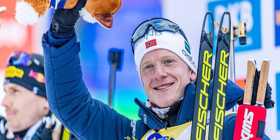 Йоханнес Бе: «На ЧМ хочу выиграть медаль в каждой гонке»