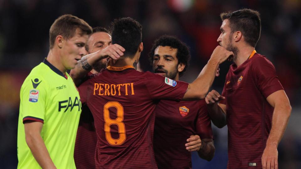 «Рома» разгромила «Болонью» и сохранила второе место в Серии А