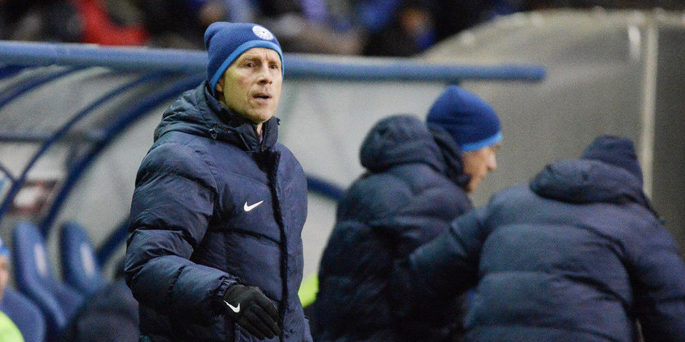 Владимир Федотов — о поражении от «Арсенала»: «Пропускать четыре мяча дома — это некрасиво»