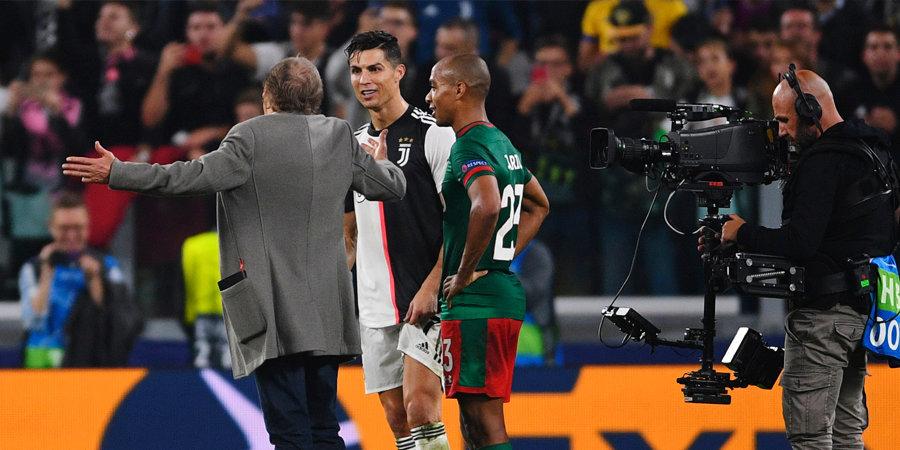 Семин рассказал, о чем поговорил с Роналду после игры с «Ювентусом»