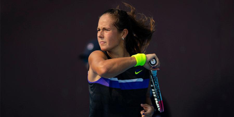 Касаткина без борьбы вышла в третий круг турнира в Абу-Даби