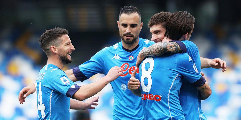 «Наполи» разгромил «Специю» и поднялся на 2-е место в Серии А, обойдя «Аталанту», «Ювентус» и «Милан»