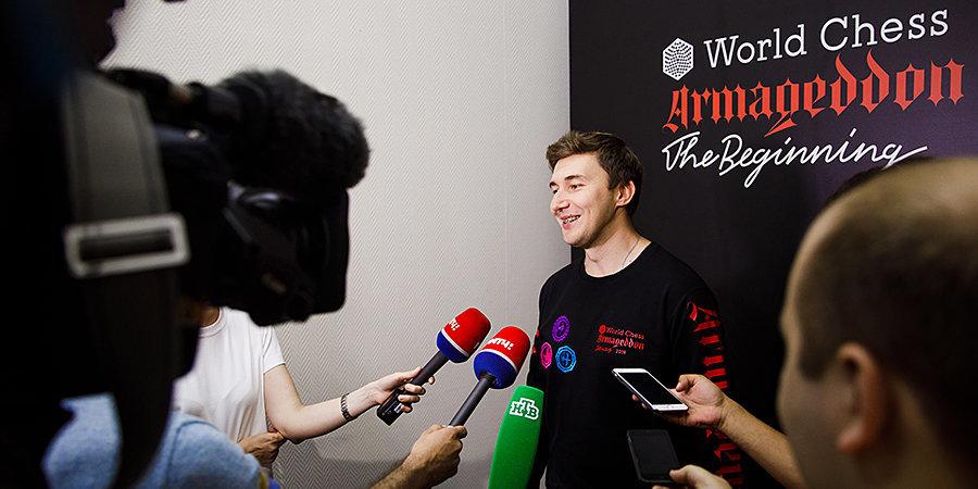 Сергей Карякин: «В матче с Непомнящим я провел свою лучшую партию на турнире»