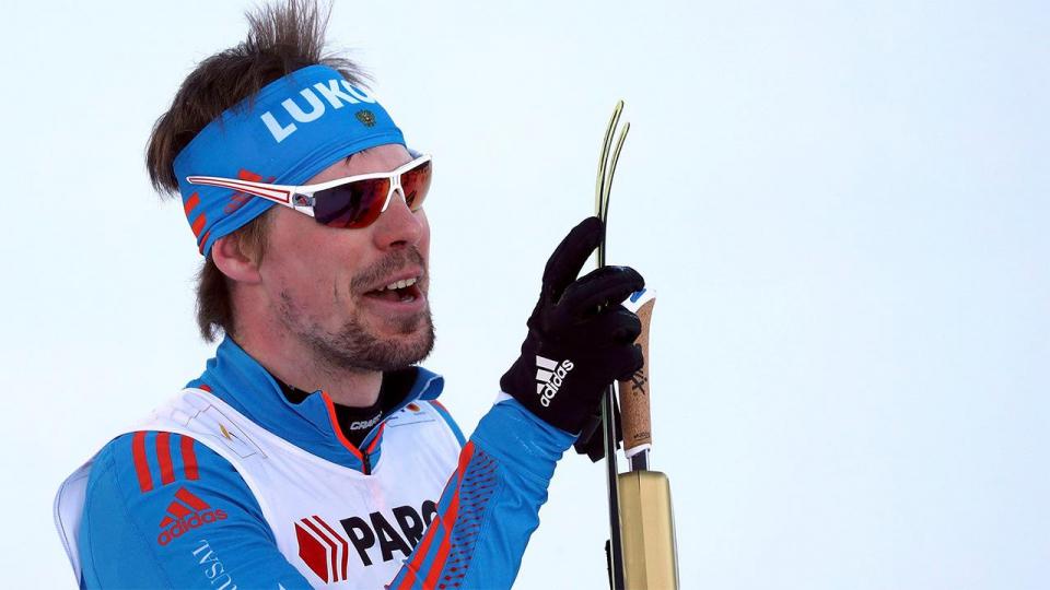 Устюгов уступил в забеге в гору биатлонисту