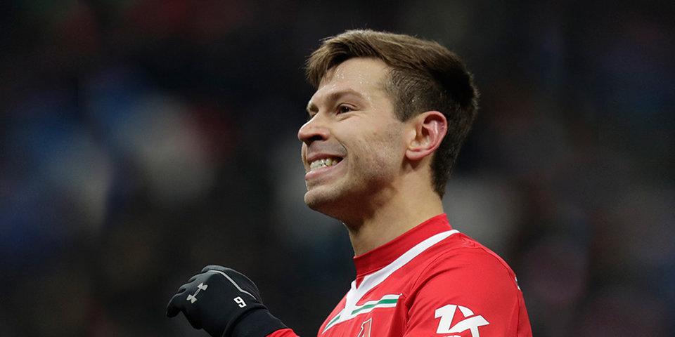 Федор Смолов — о первом сезоне в «Локомотиве»: «Я супер хэппи»