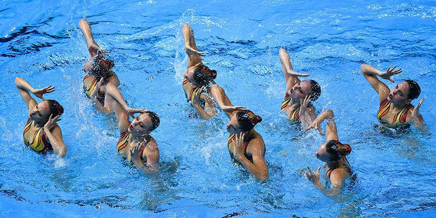 9 из 10. Сборная России по синхронному плаванию триумфально завершила чемпионат мира