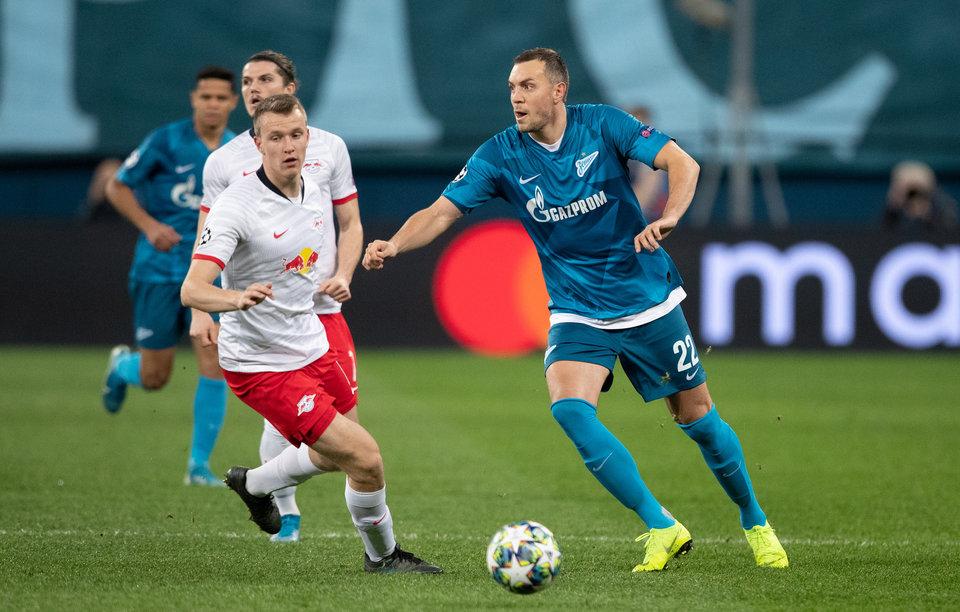 Автор победного гола в ворота «Зенита» Демме выступает за сборную «Лейпцига» по FIFA 20