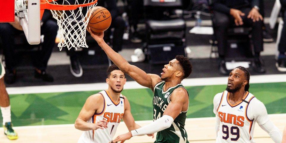 Яннис слишком хорош, чтобы проиграть 0-4. «Милуоки» сократил отставание в финале НБА
