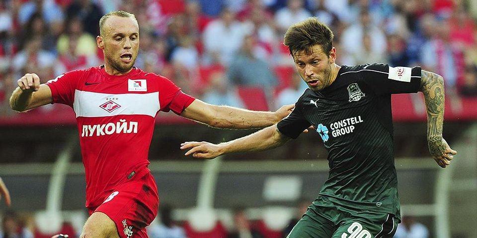 «Это будет гигантский трансфер». Арустамян — о возможном переходе Смолова в «Спартак»