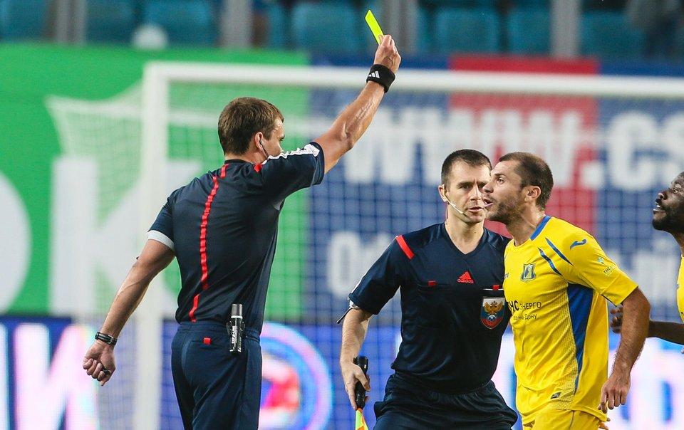 Российская бригада судей во главе с Левниковым отработает на матче Лиги Европы