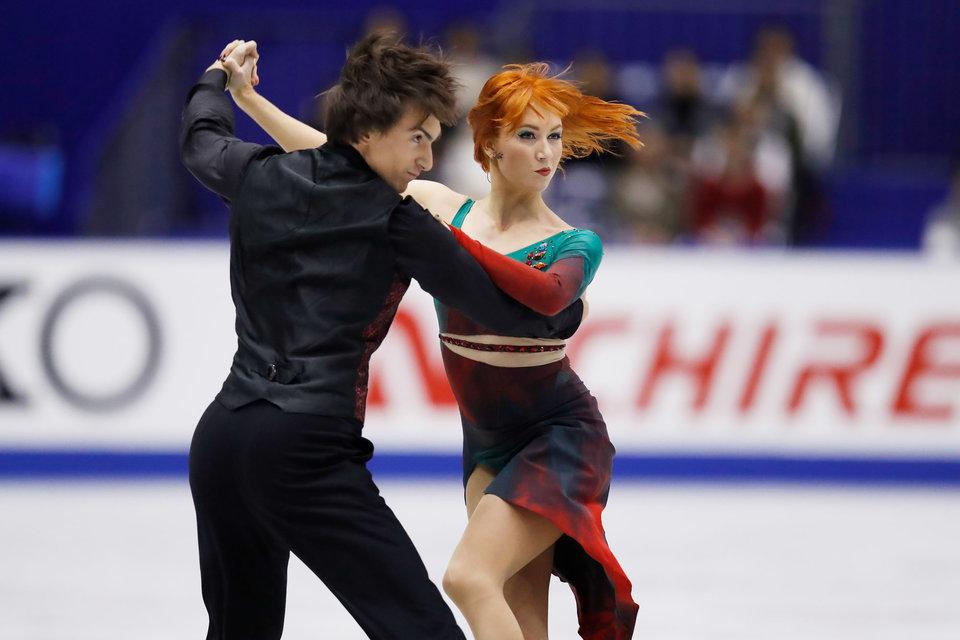 Российский дуэт — пятый по итогам ритм-танца во Франции, Пападакис и Сизерон установили новый мировой рекорд