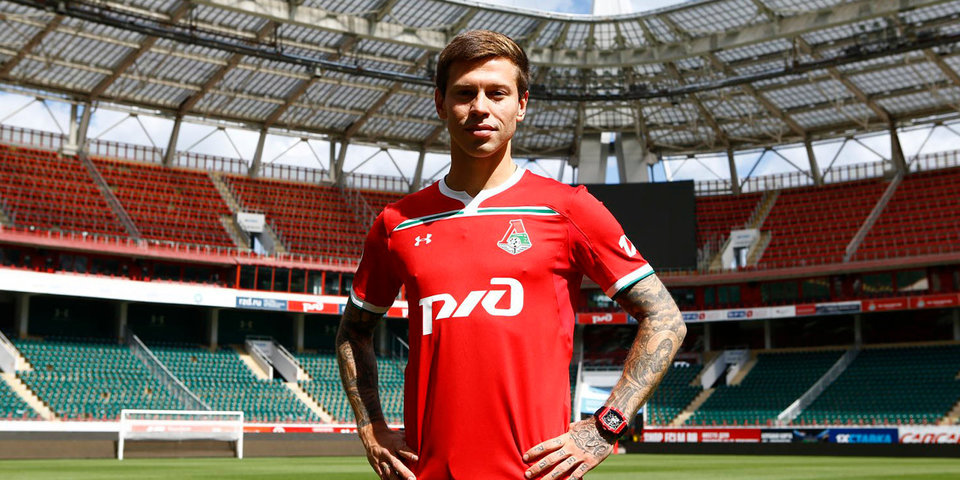 Смолов подписал контракт с «Локомотивом»