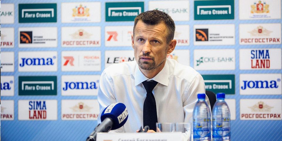 Семак остался доволен игрой Табидзе, который забил гол в свои ворота