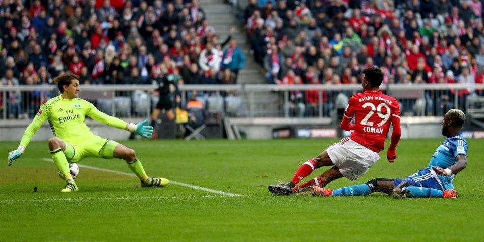 Восемь голов «Баварии» в ворота «Гамбурга»