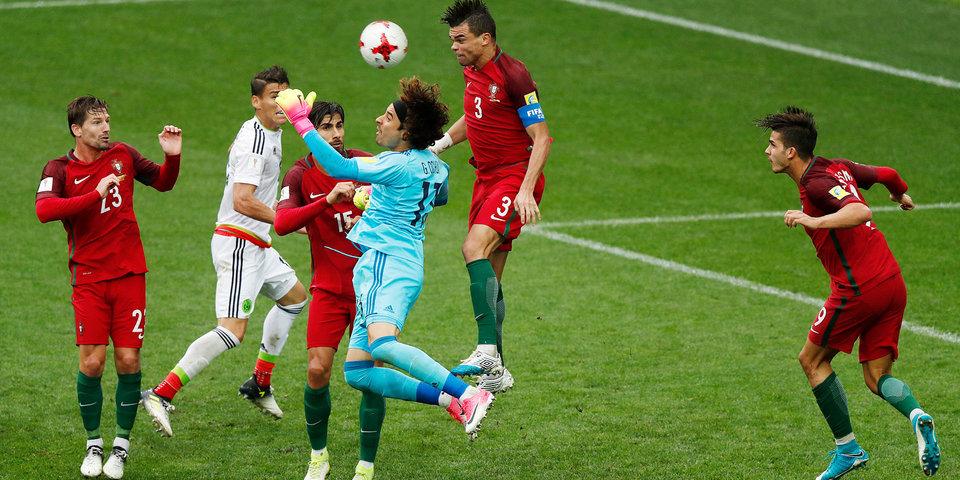 Португалия и Мексика выдали самый яркий матч Кубка конфедераций! Лучшие кадры бронзовой игры