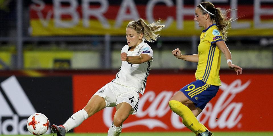 Германия и Швеция оставили Россию во главе таблицы группы В на Евро-2017