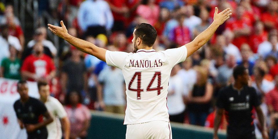 СМИ: «Арсенал» нацелен на подписание Маноласа