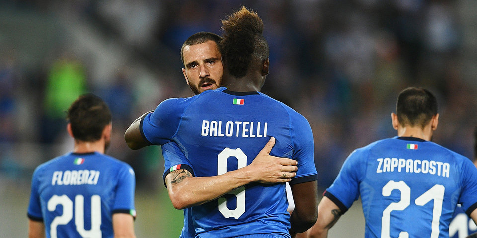 Балотелли и Белотти забивают. Но Италия с трудом обыгрывает саудитов