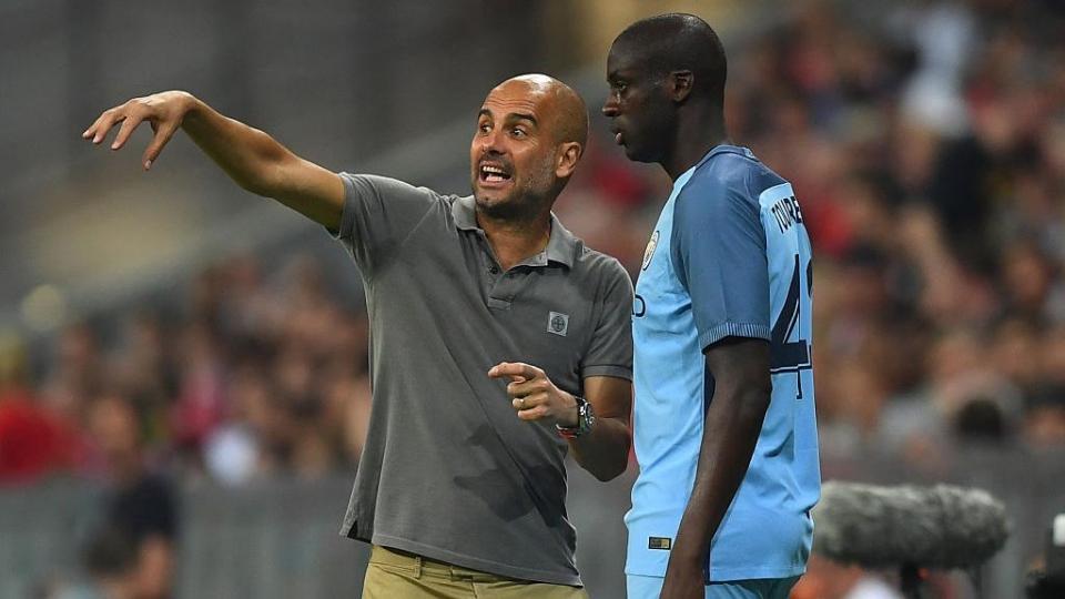 Гвардиола объявил об уходе Яя Туре из «Манчестер Сити»