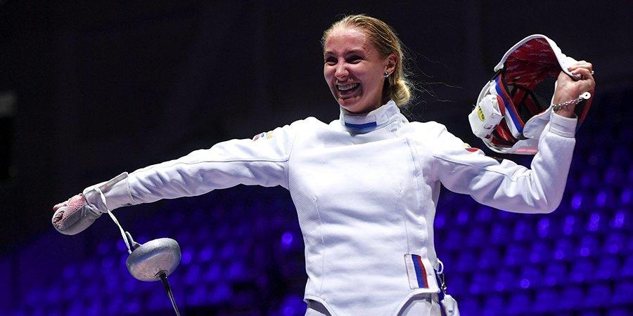 Виолетта Колобова — о поражении от Ярецки: «Всё пошло не так с самого начала, попробуем реабилитироваться в командных соревнованиях»