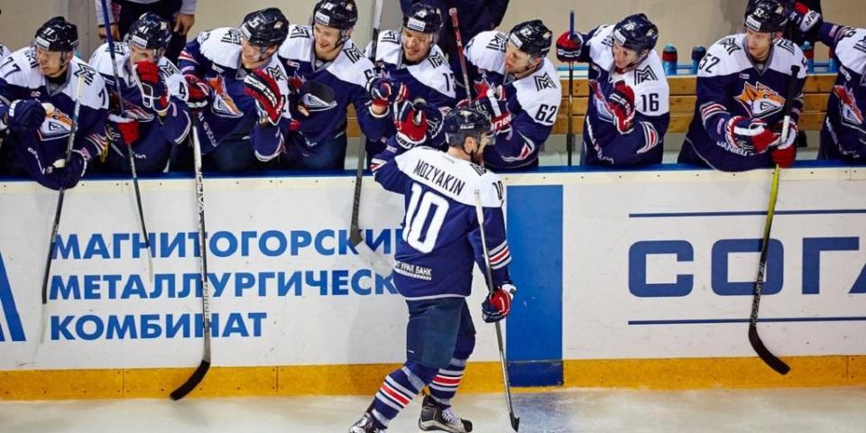 «Магнитка» взяла реванш у «Авангарда», Мозякин установил очередной рекорд