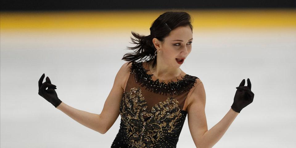 Туктамышева выиграла короткую программу на турнире в Загребе