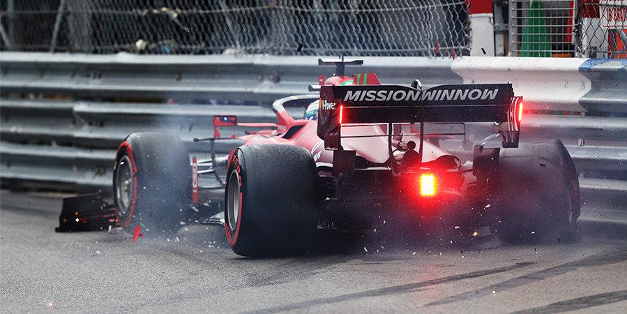 Леклер стал лучшим в квалификации на домашнем Гран-при, но разбил машину. Мазепин — 19-й