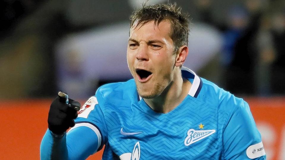 Дзюба официально получил капитанскую повязку в «Зените»