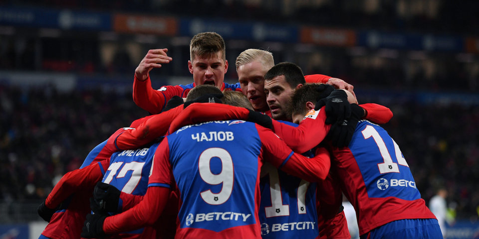 ЦСКА первым в премьер-лиге набрал 1000 очков