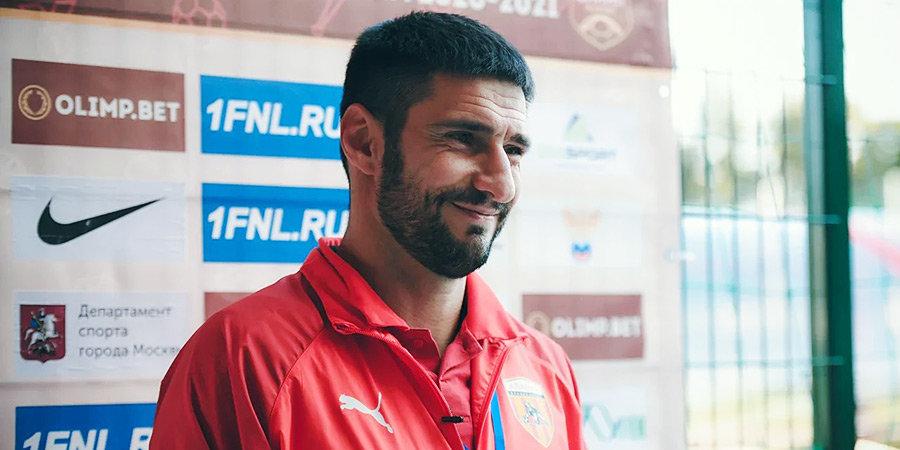 Гогниев назван лучшим тренером ФНЛ в ноябре и декабре