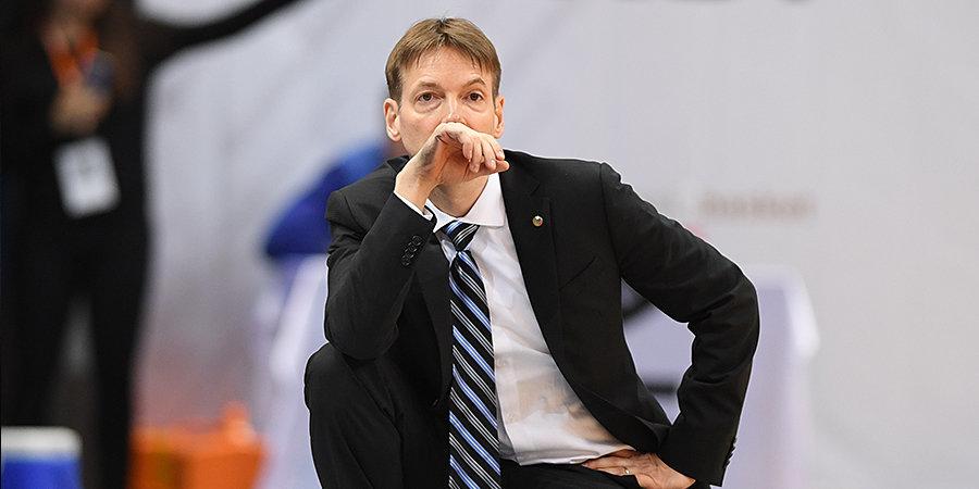 Ланге уйдет с поста главного тренера женской сборной России
