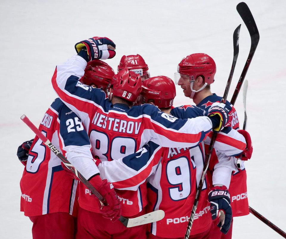 ЦСКА объявил о возвращении россиянина из НХЛ