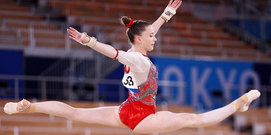 Байлз завоевала бронзу Олимпиады в упражнениях на бревне, Уразова показала 8-й результат
