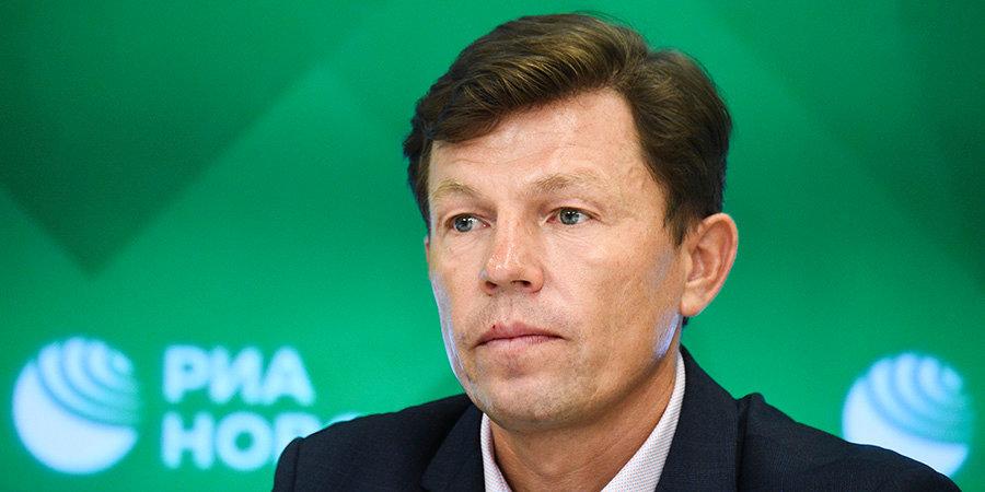Глава СБР — о результатах сборной России на ЧМ: «Не вешаю нос»