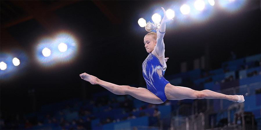 Листунова объяснила, зачем гимнастки надевали валенки во время пауз между видами