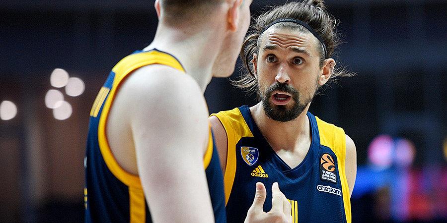 РИА Новости: Баскетболисты «Химок» не получают зарплаты на протяжении двух месяцев