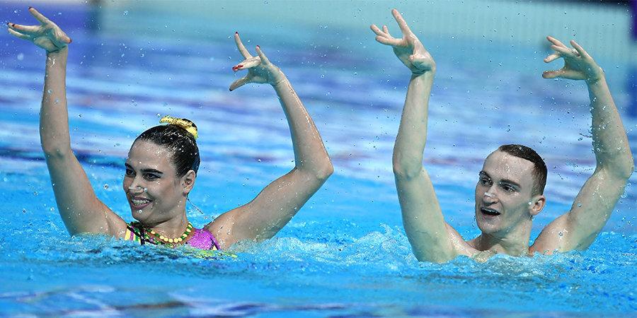 FINA хочет видеть микст-дуэты в синхронном плавании на Олимпиаде